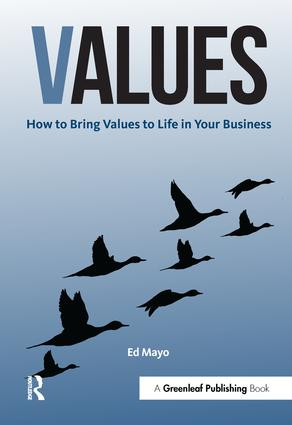 Values: How to Bring Values to Life in Your Business book cover