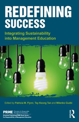 Redefining Success: Integrating Sustainability into Management Education (Hardback) book cover