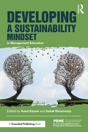 Developing a Sustainability Mindset in Management Education: 1st Edition (Paperback) book cover