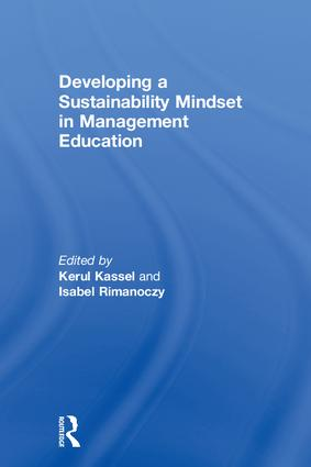 Developing a Sustainability Mindset in Management Education book cover