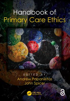 Handbook of Primary Care Ethics book cover