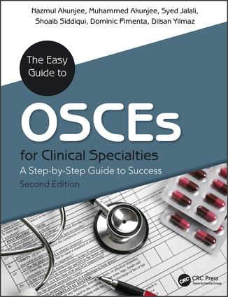 The Easy Guide to OSCEs for Specialties: A Step-by-Step Guide to Success, Second Edition, 2nd Edition (Paperback) book cover