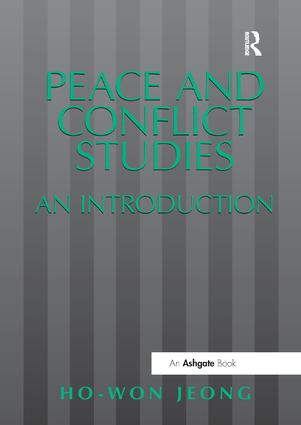 Peace and Conflict Studies: An Introduction, 1st Edition (Paperback) book cover