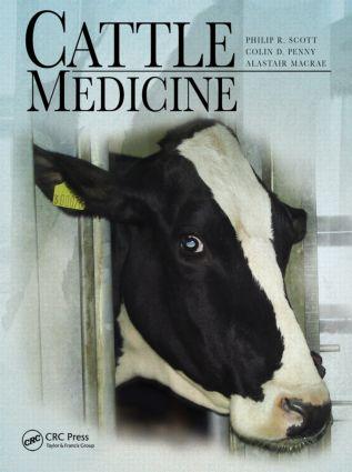 Cattle Medicine: 1st Edition (Hardback) book cover