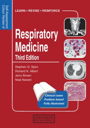 Respiratory Medicine: Self-Assessment Colour Review, Third Edition, 3rd Edition (Paperback) book cover