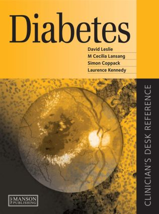 Diabetes: Clinician's Desk Reference book cover