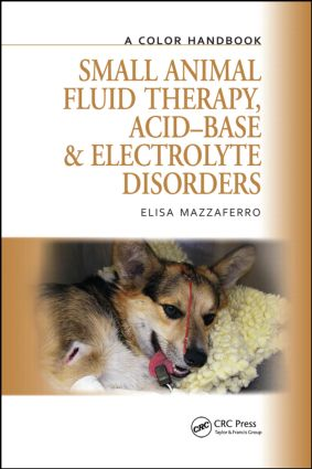 Small Animal Fluid Therapy, Acid-base and Electrolyte Disorders: A Color Handbook, 1st Edition (Hardback) book cover