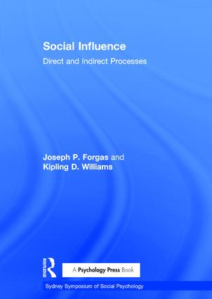 Social Influence: Direct and Indirect Processes (Paperback) book cover