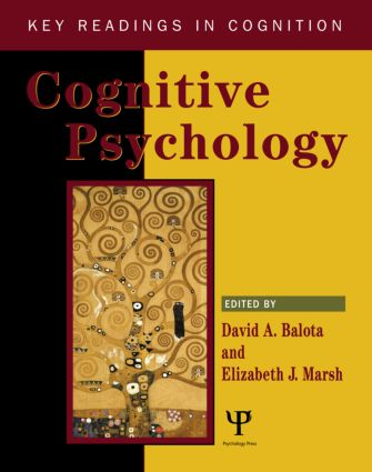 Cognitive Psychology: Key Readings book cover