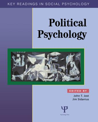 Political Psychology: Key Readings (Paperback) book cover