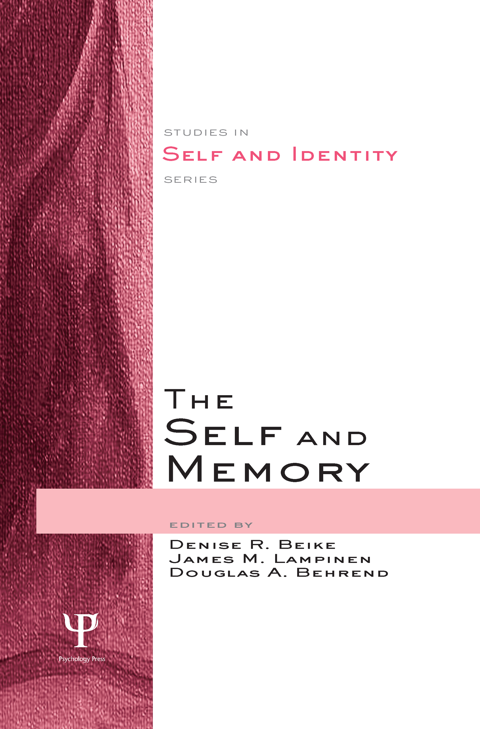 The Self and Memory (Hardback) book cover