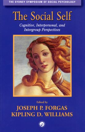 The Social Self: Cognitive, Interpersonal and Intergroup Perspectives (Paperback) book cover