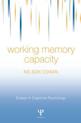 Working Memory Capacity (Hardback) book cover