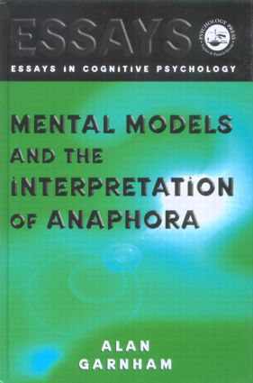 Mental Models and the Interpretation of Anaphora book cover