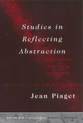 Studies in Reflecting Abstraction (Hardback) book cover