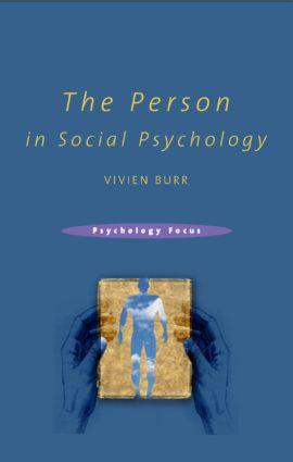 The Person in Social Psychology (Paperback) book cover