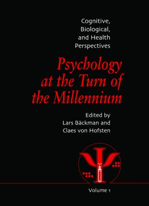 Psychology at the Turn of the Millennium, Volume 1: Cognitive, Biological and Health Perspectives (Hardback) book cover