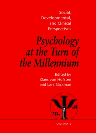 Psychology at the Turn of the Millennium, Volume 2: Social, Developmental and Clinical Perspectives (Hardback) book cover