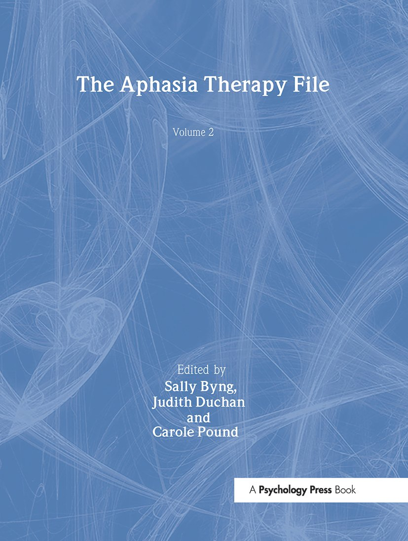 The Aphasia Therapy File: Volume 2 (Hardback) book cover