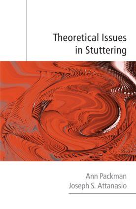 Theoretical Issues in Stuttering (Hardback) book cover