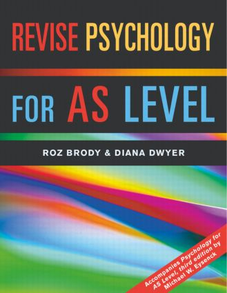 Revise Psychology for AS Level book cover