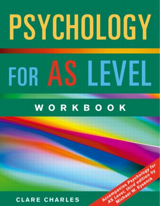 Psychology for AS Level Workbook book cover
