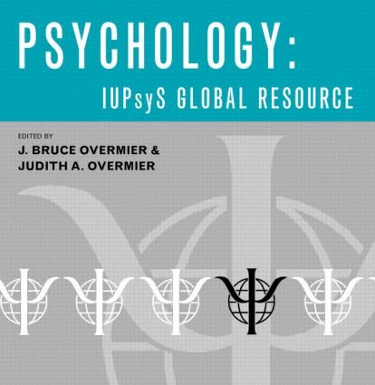 Psychology: IUPsyS Global Resource (Edition 2002) (CD-ROM) book cover