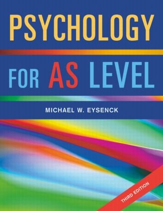 Psychology for AS Level book cover