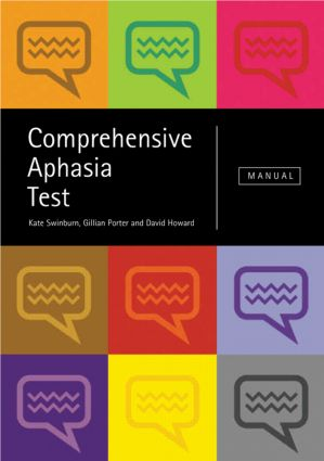 Comprehensive Aphasia Test (Pack) book cover