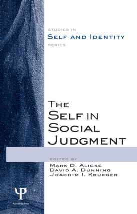 The Self in Social Judgment (Hardback) book cover