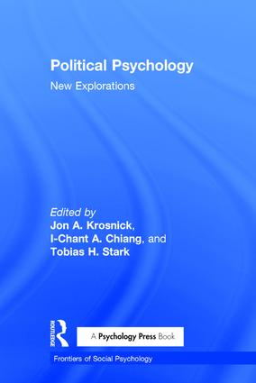 Political Psychology: New Explorations (Hardback) book cover