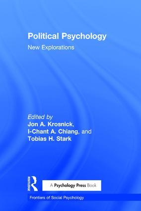 Political Psychology: New Explorations (Hardback) book cover
