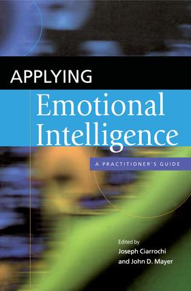 Emotional Intelligence in the Classroom: Skill-Based Training for Teachers and Students