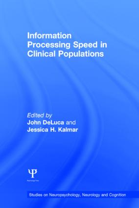 Information Processing Speed in Clinical Populations (Hardback) book cover