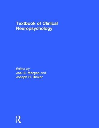 Textbook of Clinical Neuropsychology book cover