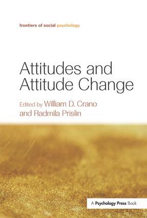 Attitudes and Attitude Change (Hardback) book cover