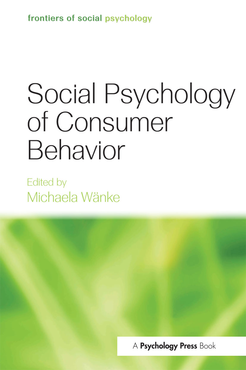 Social Psychology of Consumer Behavior book cover