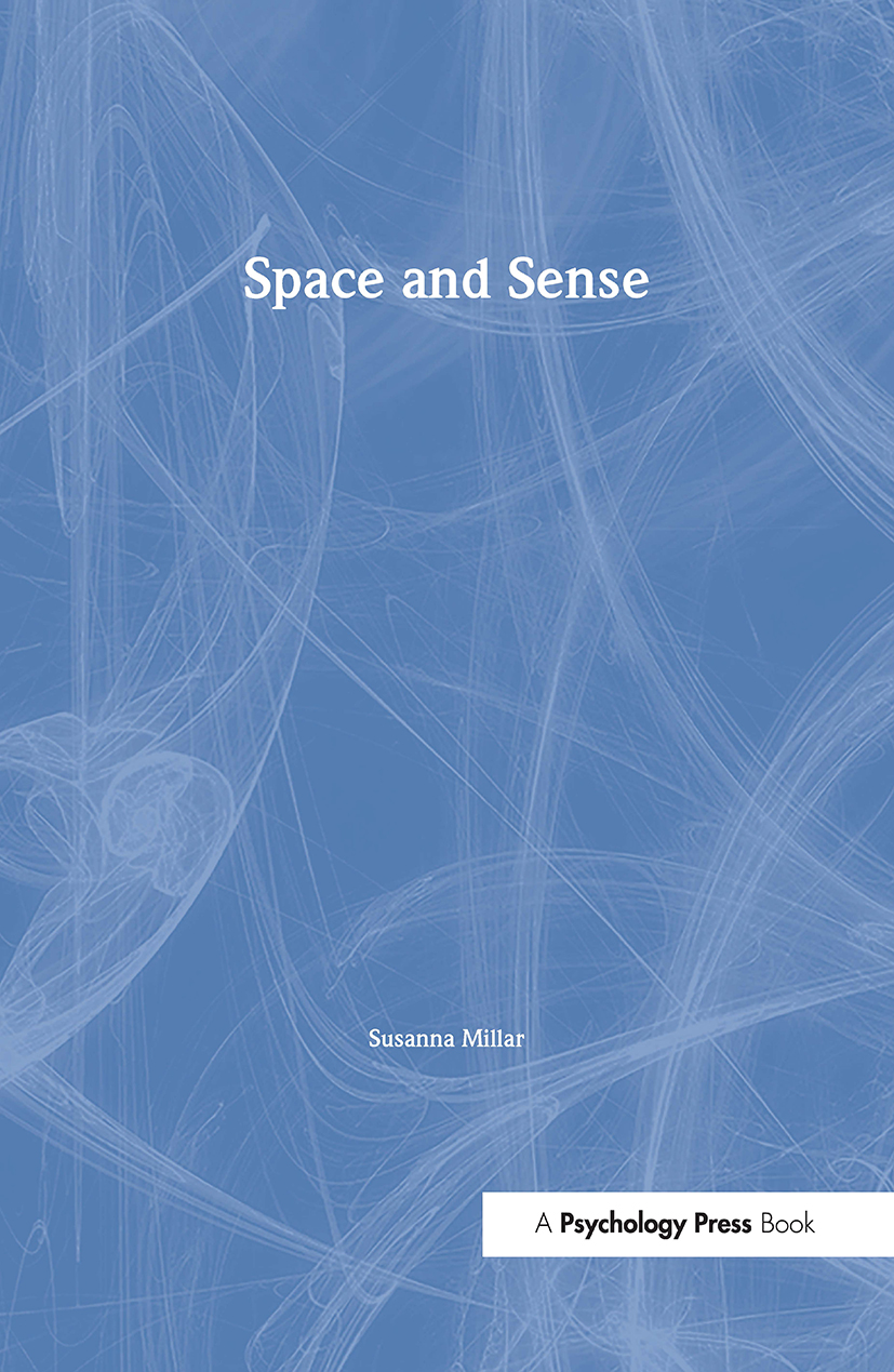 Space and Sense (Hardback) book cover