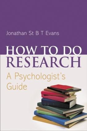 How to do Research