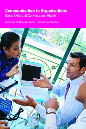 Communication in Organizations: Basic Skills and Conversation Models (Paperback) book cover