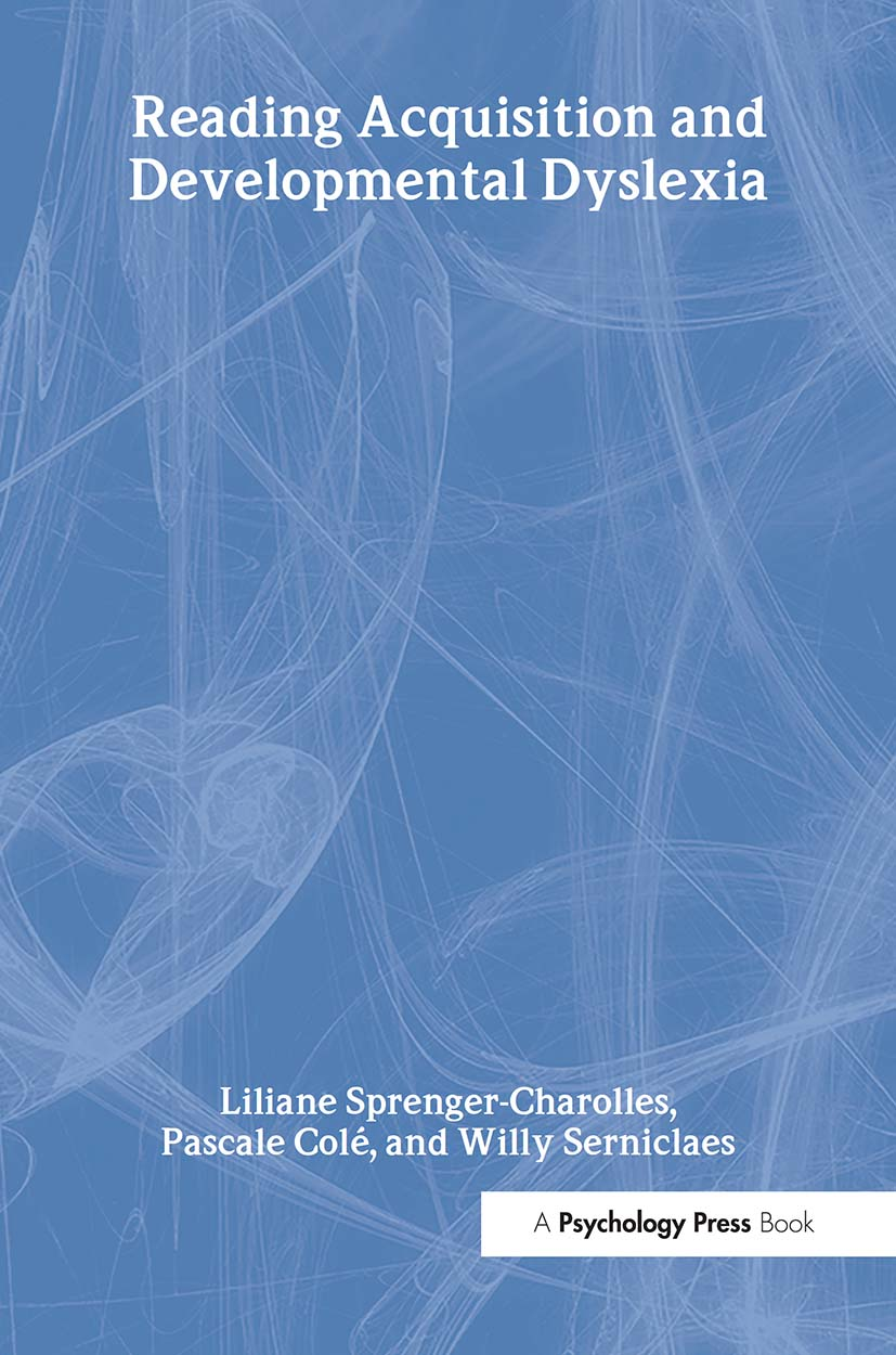 Reading Acquisition and Developmental Dyslexia (Hardback) book cover