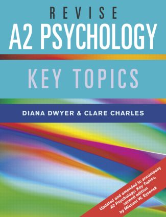 Revise A2 Psychology: Key Topics (Paperback) book cover