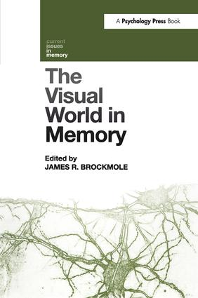 The Visual World in Memory (Hardback) book cover
