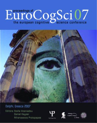 Proceedings of the European Cognitive Science Conference 2007 (Paperback) book cover