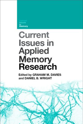 Current Issues in Applied Memory Research (Hardback) book cover