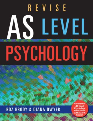 Revise AS Level Psychology: 1st Edition (Paperback) book cover