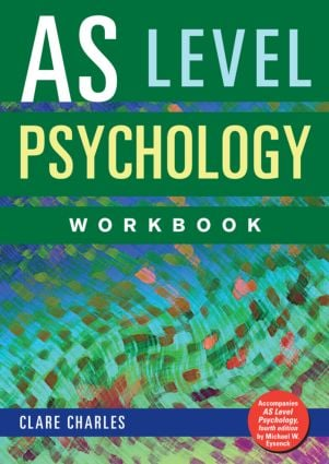 AS Level Psychology Workbook (Paperback) book cover
