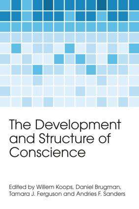 The Development and Structure of Conscience (Hardback) book cover