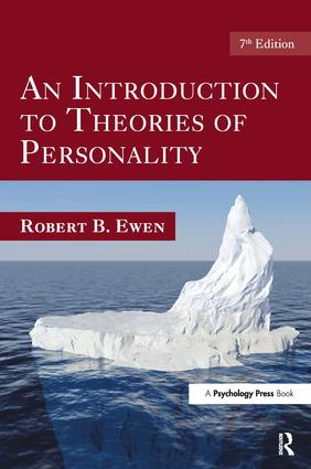 An Introduction to Theories of Personality: 7th Edition, 7th Edition (Hardback) book cover