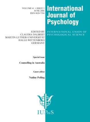 Counselling in Australia: A Special Issue of the International Journal of Psychology, 1st Edition (Paperback) book cover